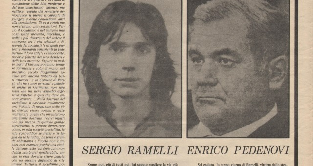 Dagli archivi Lorien: Candido 4 maggio 1978