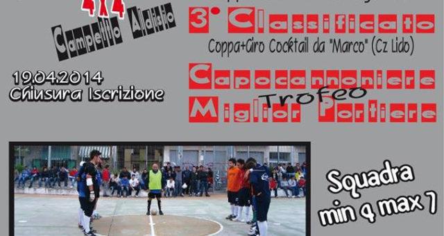 5 maggio 2014 Catanzaro: V° Memorial Sergio Ramelli