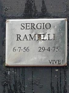 2018-03-17 Verona Vandalismo a targa Ramelli
