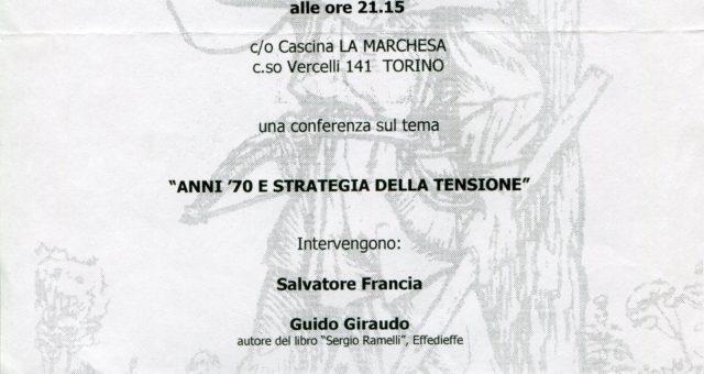 Le presentazioni 1999