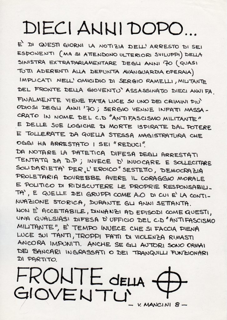 1985 - FdG Milano