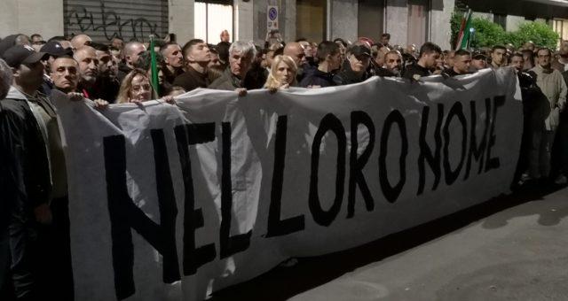 29 aprile 2019 Milano: manifestazione e presente