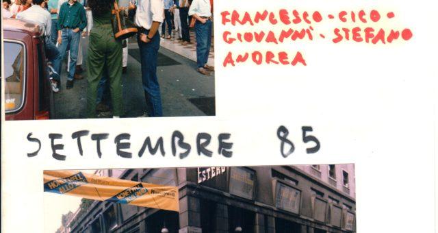 Settembre 1985 Milano – Giornale parlato