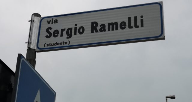Lodi – Via Sergio Ramelli