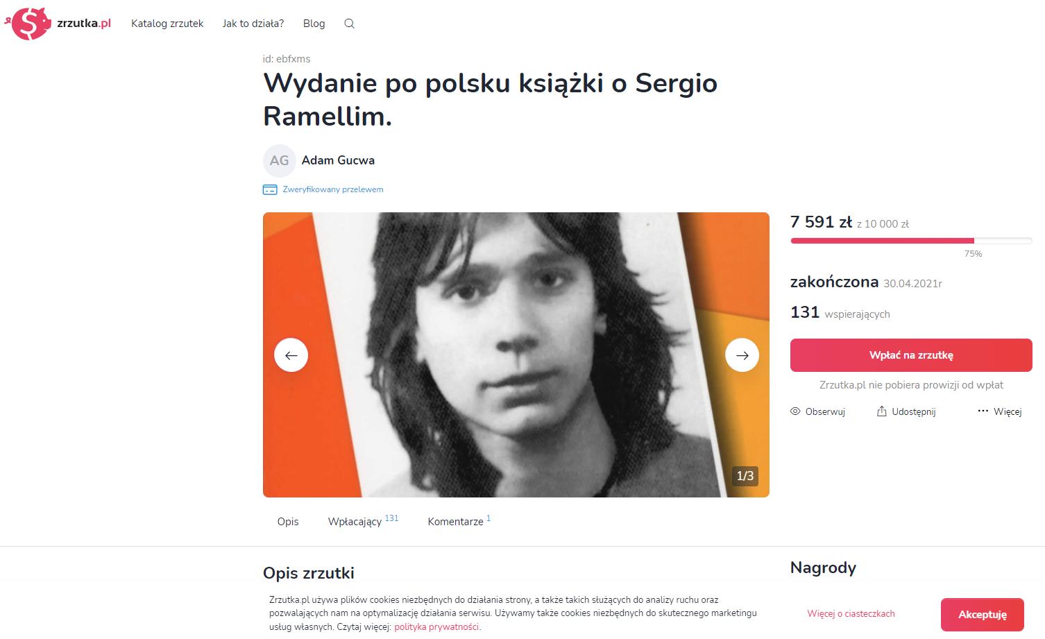 Raccolta fondi pololonia