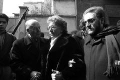 L'ON. F. SERVELLO, ANITA RAMELLI E RICCARDO DE CORATO