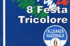 Manifesto della Festa Tricolore