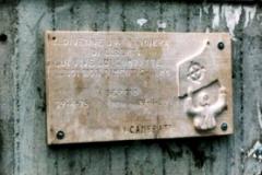 1ª Targa commemorativa
