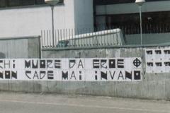 Via Ramelli 2000 (Giovani del Movimento Sociale Fiamma Tricolore di Verona) Chi muore da eroe 00