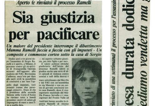 Dagli archivi Lorien: Secolo d'Italia 17 marzo 1987