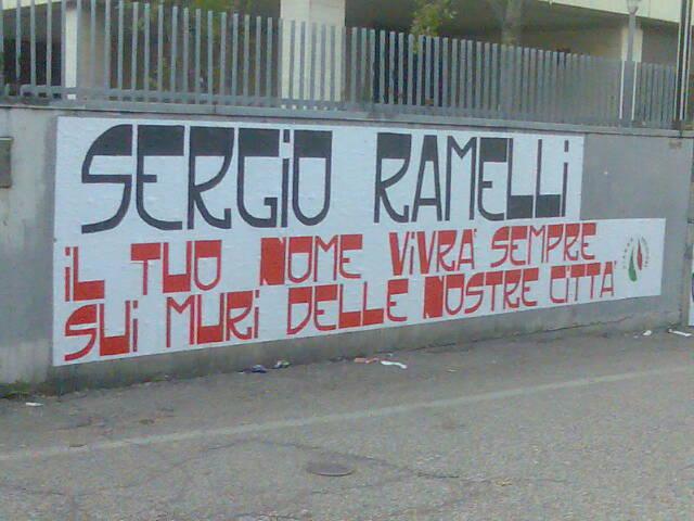 Via Ramelli 2007 (ad opera di Fiamma Tricolore Verona)