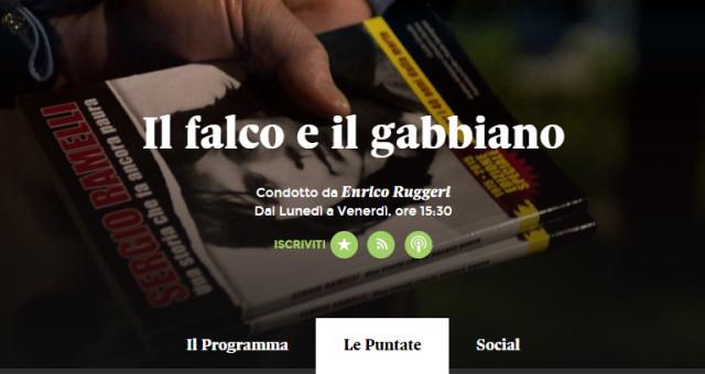 Disponibile il Podcast della trasmissione il Falco e il Gabbiano