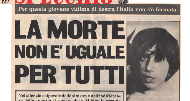 Dagli archivi Lorien: Lo Specchio 11 maggio 1975