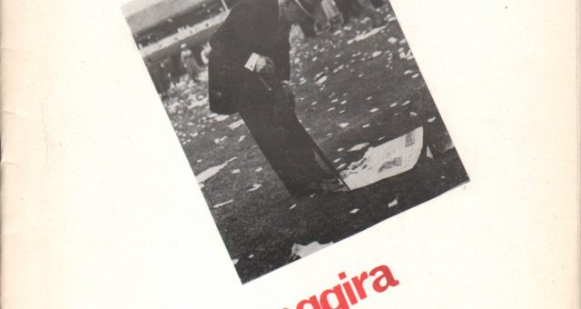 Dagli archivi Lorien: Fare Fronte n. 1 autunno 1985