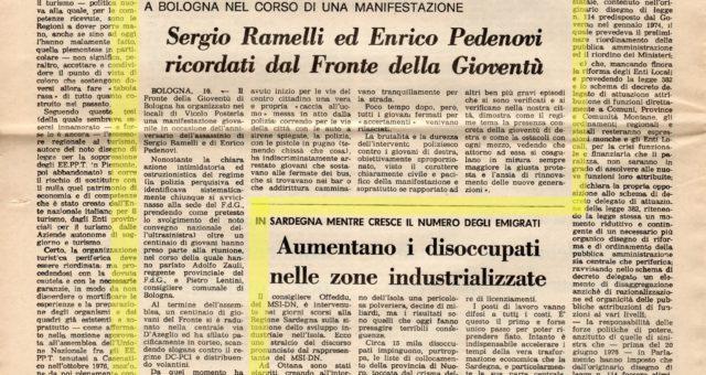 Dagli archivi Lorien: Secolo d'Italia 17 maggio 1977