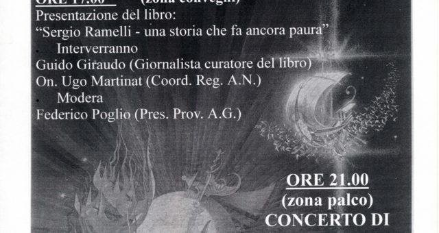 Presentazione del 18 settembre 1998 a Torino
