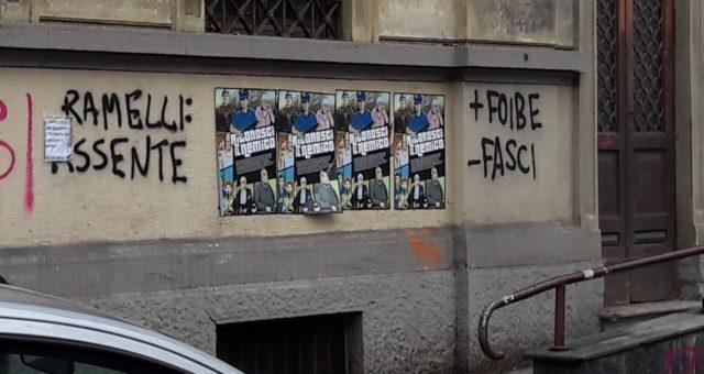 Milano: tolte le scritte contro Ramelli