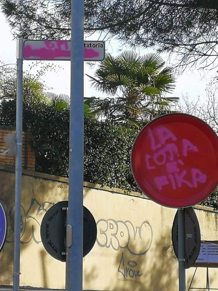 2019-03-08 Perugia Vandalismo Ramelli 01