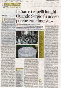 Corriere della Sera n. 40 del 16febbraio 2020