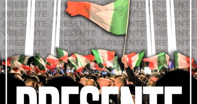 29 aprile 2021 Milano ore 20.00 presente in Via Paladini.